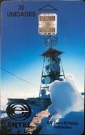 CHILI - Phonecard - ENTEL - R/E Cerro El Roble Valparaiso - 30 Unidades - Cile