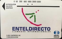 CHILI - Phonecard - ENTEL - ENTELDIRECTO - 5.000 Unidades - Cile
