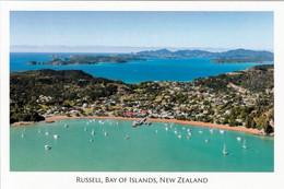 1 AK Neuseeland * Blick Auf Russell Und Die Bay Of Islands - Auf Der Nordinsel - Luftbildaufnahme * - Neuseeland
