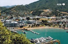 1 AK Neuseeland * Blick Auf Die Hafenstadt Picton - Sie Liegt Im Marlborough District Auf Der Südinsel Von Neuseeland * - Neuseeland
