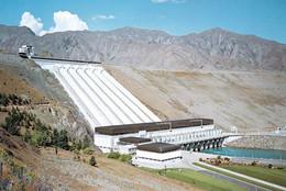 1 AK Neuseeland * Benmore Dam - Penstocks And Power House In Der Region Canterbrury - Südinsel * - Neuseeland