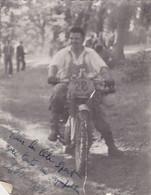 Ancienne Photo  Moto-Cross - Gehandtekende Foto's