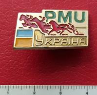 Badges PMU Ukraine Horse, - Altri