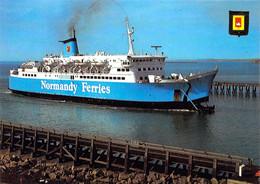 """62 - Boulogne Sur Mer - Car Ferry Le """"Tiger"""" De La Compagnie Normandy Ferries - Boulogne Sur Mer"""