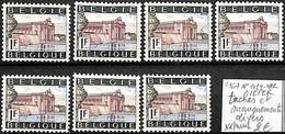 [849759]TB//**/Mnh-Belgique 1967 - N° 1424-VAR, IEPER, Taches Et Manquements Divers - Plaatfouten (Catalogus OCB)