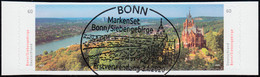 3517-3518 Panorama Bonn / Siebengebirge, Selbstklebend Aus FB 96, EV-O Bonn - Ohne Zuordnung