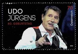 Österreich 2014,Michel# 3165 O Udo Jürgens - 2011-... Afgestempeld