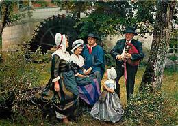 24 - Dordogne - Folklore - Périgord - Groupe Lou Chalei - Périgueux - Un Air De Cabrette Au Moulin D'Amenot - CPM - Voir - Other Municipalities