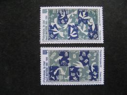 Polynésie: TB Paire N° 1231 Et N° 1232, Neufs XX. - Unused Stamps