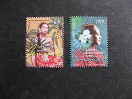 Polynésie: TB Paire N° 1208 Et N° 1209, Neufs XX. - Unused Stamps
