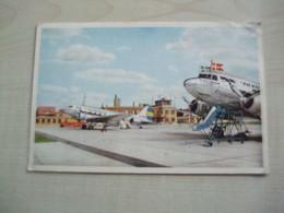 Carte Ancienne AEROPORT SUEDE MALMO-BULLTOFTA - Aeródromos
