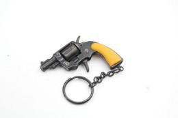 Vintage TOY GUN : COLT NAN - L=6,0cm - Keychain 1960s-70s - Keywords : Cap - Cork Gun - Rifle - Revolver - Pistol - Tin - Sammlerwaffen