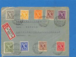 Allemagne Bizone 1946 Lettre De Westhofen (G2844) - American/British Zone
