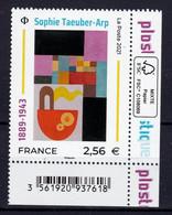 Série Artistique, Sophie Taeuber ** TTB N° - Unused Stamps