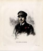 Print 1920 France Fleet French Navy Admiral Amiral Amiral Charles-Henri Dumesnil - Prints & Engravings