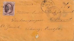 USA 1873 LETTRE DE PORTLAND - Cartas