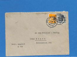 Allemagne Bizone 1948 Lettre De Mulheim (G2871) - Zone Anglo-Américaine