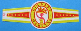 1 BAGUE DE CIGARE CIGARES WEBSTAR - Cigar Bands
