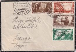 ITALIE 1933 LETTRE DE BRESSANONE - Storia Postale