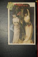 CP, Deux Femmes Aux Fleurs - Femmes