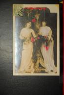 CP, Deux Femmes Aux Fleurs N°3 - Femmes