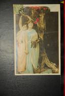 CP, Deux Femmes Aux Fleurs N°4 - Femmes