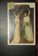 CP, Deux Femmes Aux Fleurs N°5 - Femmes