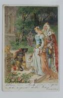 21521 Cartolina Illustrata - Il Gatto Con Gli Stivali - VG Primi 900 - Fiabe, Racconti Popolari & Leggende