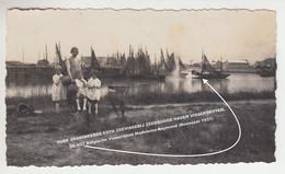 OUDE GEANIMEERDE FOTO ZEEVISSERIJ ZEEBRUGGE HAVEN VISSERSBOTEN, DE H57 Belgische Vissersboot Madeleine-Raymond (BJ 1931) - Zeebrugge