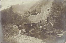 FIGEAC - Accident Chemin De Fer 12 Aout 1904 à Viazac - RARE CARTE PHOTO - Figeac