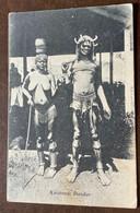 KAVIRONDO DANDIS  - POSTCARD FROM KILINDINI - MOMBASA 9/7/1923  TO FLORENCE . ITALY - Monde