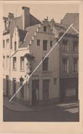 FOTOKAART ESTAMINET IN DE WACHTZAAL A DELBAERE DEFAU LANGE BRILSTRAAT 28 HOEK VENUSSTRAAT ANTWERPEN - Antwerpen