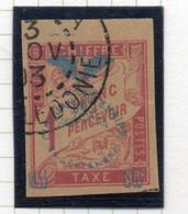 37CRT833 - NUOVA CALEDONIA 1903 , Segnatasse Yvert N. 14 (CRT) - Postage Due