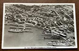 NEW ZELAND - VEDUTA AEREA DI WELLINGTON - POSTCARD  TO FIRENZE ITALY IN DATA 12 NOV 1956 - Monde
