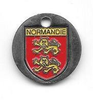 Jeton De Caddie  Blason  Région  NORMANDIE - Einkaufswagen-Chips (EKW)