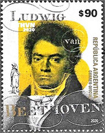 ! ARGENTINE / ARGENTINA: Music - Ludwig Van Beethoven / La Musique (2020) MNH *** Neuf - Unused Stamps