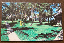 ANTIGUA - ANCHORAGE HOTEL  - POST CARD  FROM  S.T.JOHNS 26/1/82 TO LUCCA - ITALY - Monde