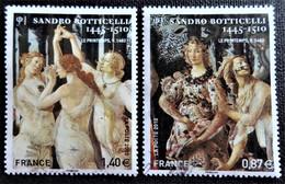 Timbres  N° 4518 Et 4519 Issu Du Feuillet F4518 - Oblitérés