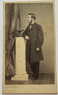 CDV. Portrait D'un Homme. Photographe Provost. Toulouse. France. - Oud (voor 1900)