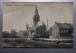 Deinze - O.L.V Kerk En Leie Met Boot - Verzonden - Deinze