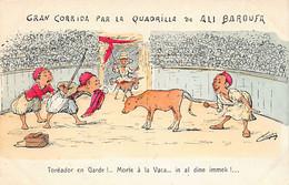 Illustrateur CHAGNY - Gran Corrida Par La Quadrille De Ali Baroufa - Scene & Tipi