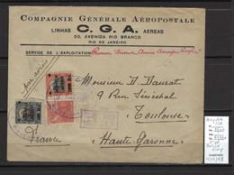 France - Brésil Rio  Aéropostale -02/03/1928 - Adressée à Didier Daurat - 1927-1959 Covers & Documents