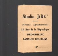 Bédarieux / Lamalou Les Bains (34 Hérault)  Petit Porte Négatifs STUDIO JIDE Photographe (PPP30616) - Publicités