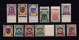ALGERIE 1947 TIMBRES N°254/65 NEUFS** ARMOIRIES DE VILLES - Nuovi