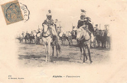 Algérie - Scènes & Types - Fauconniers - Ed. J. Geiser 178 - Professioni