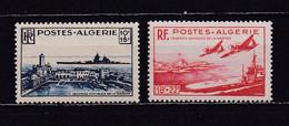 ALGERIE 1949 TIMBRES N°273/74 NEUFS** OEUVRES SOCIALES DE LA MARINE - Nuovi