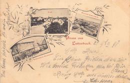 LUTTERBACH (68) Restauration Lienemann - Dorf - Brauerei - Brasserie Ed. Inconnu - Other Municipalities
