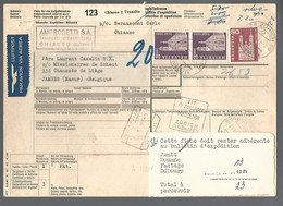58550) Switzerland Bulletin D'Expedition 1968 Postmark Cancel - Covers & Documents