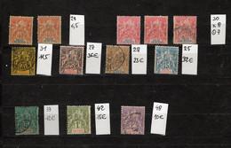 Petit Lot Des Colonies Française, Cote 175€ - Collections