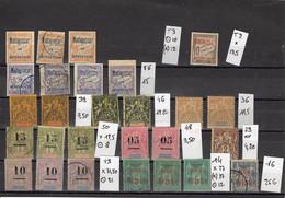 Petit Stock De MADAGASCAR, Cote 397,20€ - Used Stamps